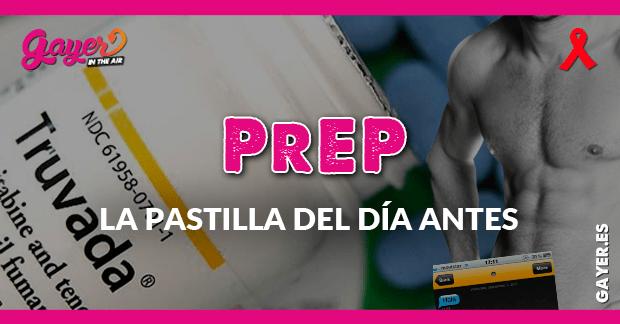 PrEP: la pastilla del día antes