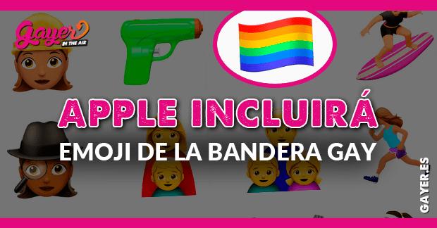 Apple incluye Emoji de la bandera gay en su nuevo sistema operativo