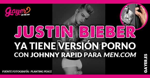 Johnny Rapid interpreta a Justin Bieber