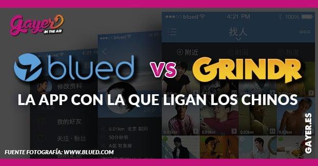 BLUED VS GRINDR LA APP CON LA QUE LIGAN LOS CHINOS