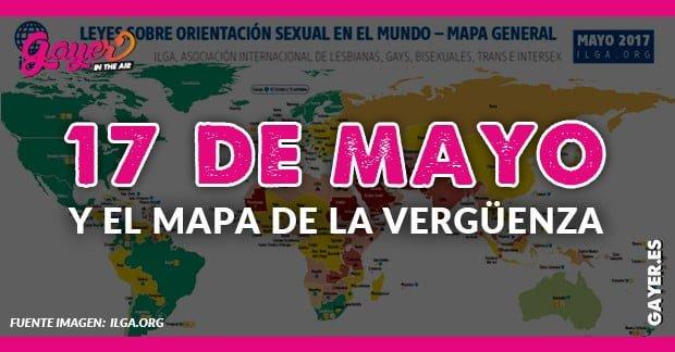 17 DE MAYO EL MAPA DE LA VERGÜENZA