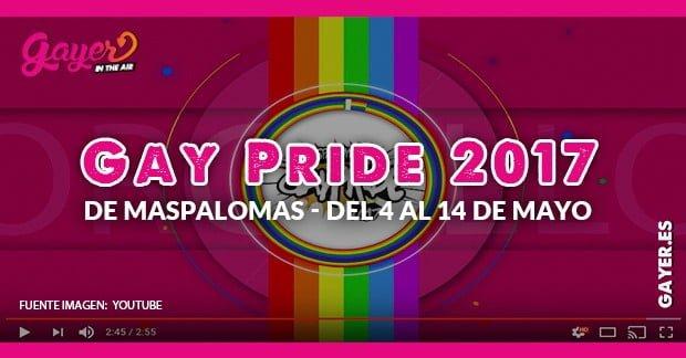 GAY PRIDE 2017 MASPALOMAS