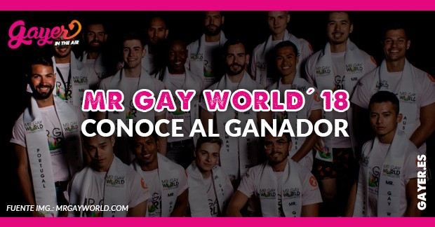 MR GAY WORLD 2018