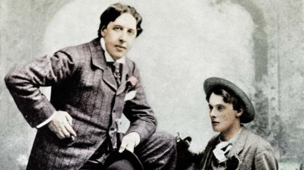 El Principe Feliz, OScar wilde y Lord Alfred Bruce Douglas.