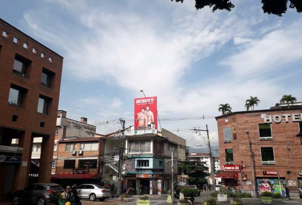 Medellin Scruff en Colombia
