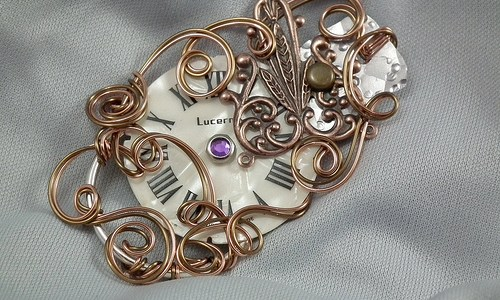 Brooches of the Steampunk Variety