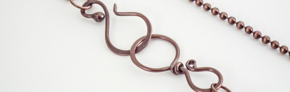 How to Make a Copper Hook & Eye Clasp