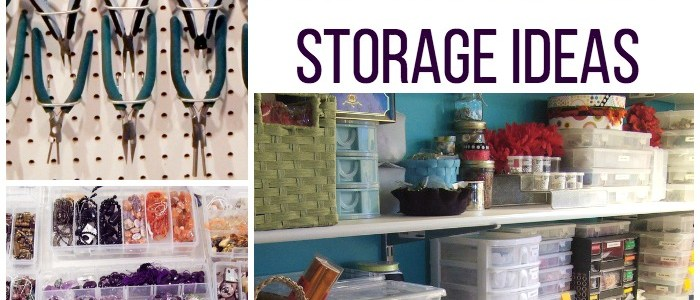 4 Inspirational Ideas for Jewelry-Making Storage