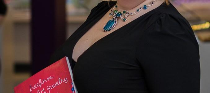 Book launch (Freeform Wire Art Jewelry)