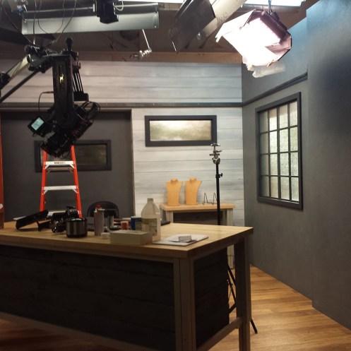 The studio was super cool.