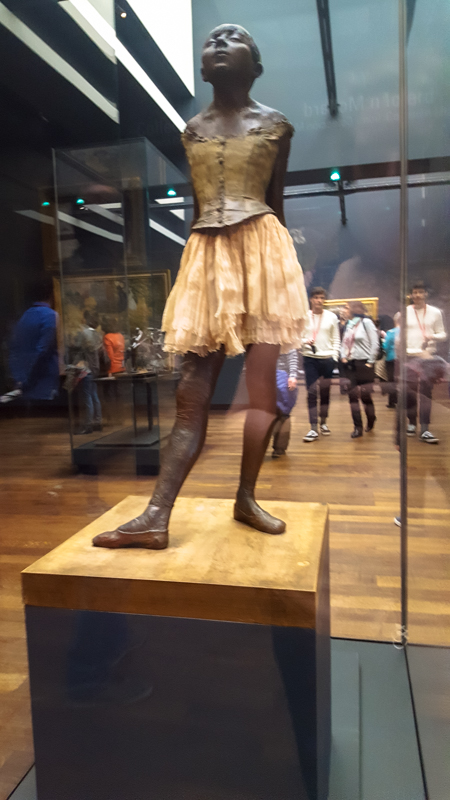Little Dancer of 14 Years, by Edgar Degas