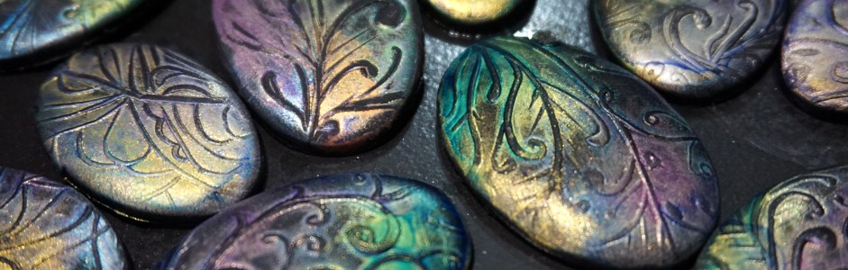 Watching Paint Dry – Lumiere Halo Paint Effects on Polymer Clay