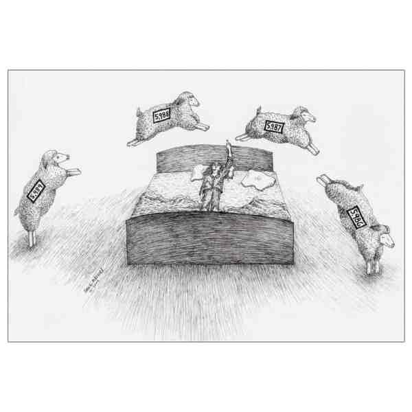 Insomnia Sheep Counting