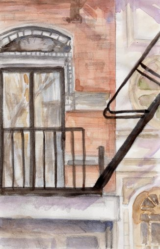 """Soho Architecture"" - 5x7"