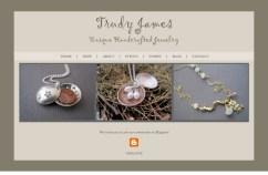 Website Design: Trudy James Jewelry