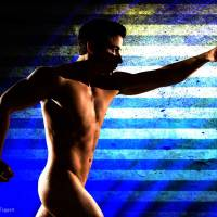 Let Your Bad Ass Flag Fly - Gay Art Male Art by Michael Taggart Photography