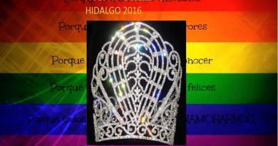 Nuestra Belleza Gay Ciudad Hidalgo 2016