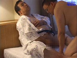 46歳の巨根メガネ兄貴は筋金入りのデブ専。50歳の太鼓腹氏に一目惚れ
