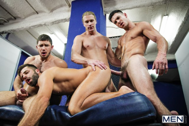 hardcore gay orgy with Paddy O'Brian