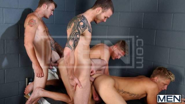 The Slammer Christian Wilde, Cliff Jensen, Gavin Waters, Philip Aubrey