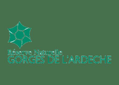 Logo Réserve naturelle des Gorges de l'Ardèche