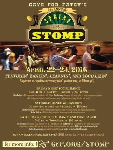 pdf flyer for Stomp