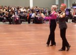 Jen and Meredith compete at Boston Open Dancesport