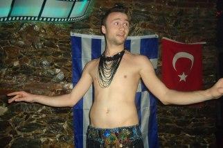 Our hot belly dancer Dimitrij @Dada Club