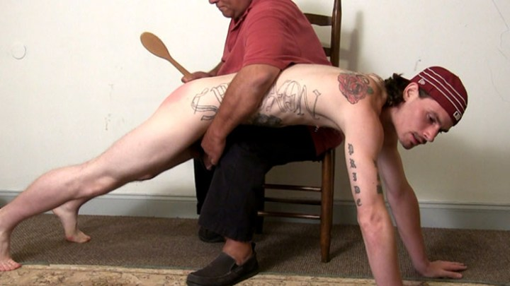 from Theo reluctant young men gay spanking