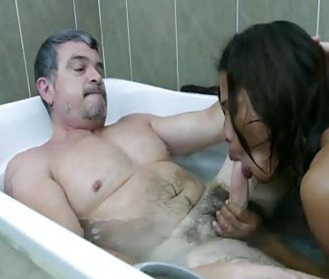 Mature Daddy Fucks Super Young Asian Boy In Bath
