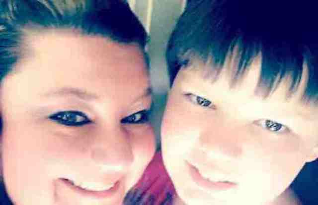 Bixseual 12-year-old Andrew Leach and mother Cheryl Hudson