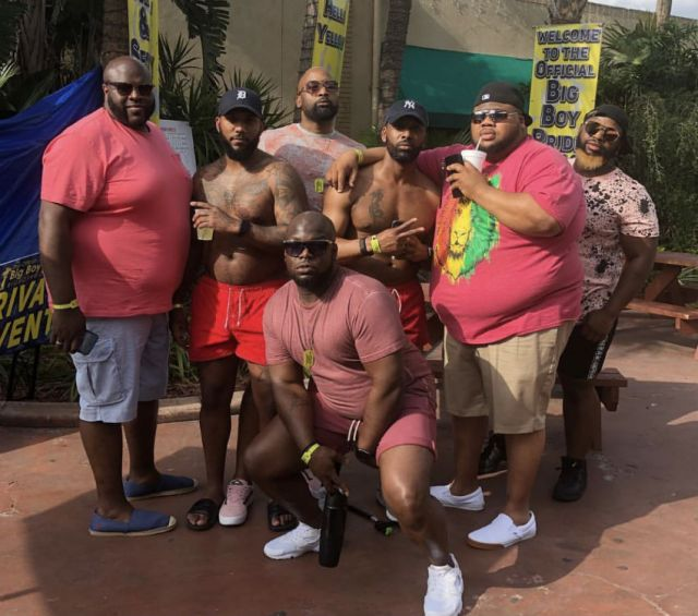 Big Boy Pride is the premier hangout for big guys of color each year