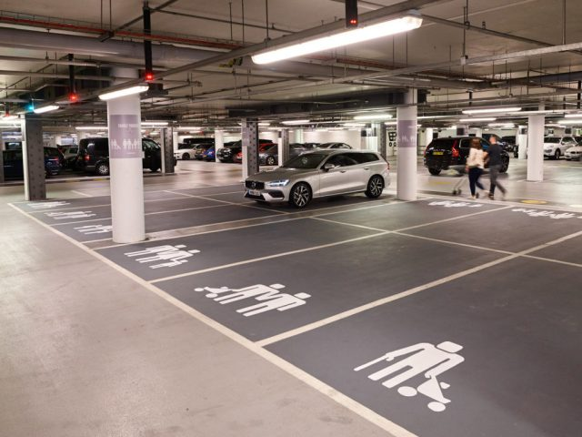 Volvo Creates Parking Spaces For Lgbti Families At Shopping