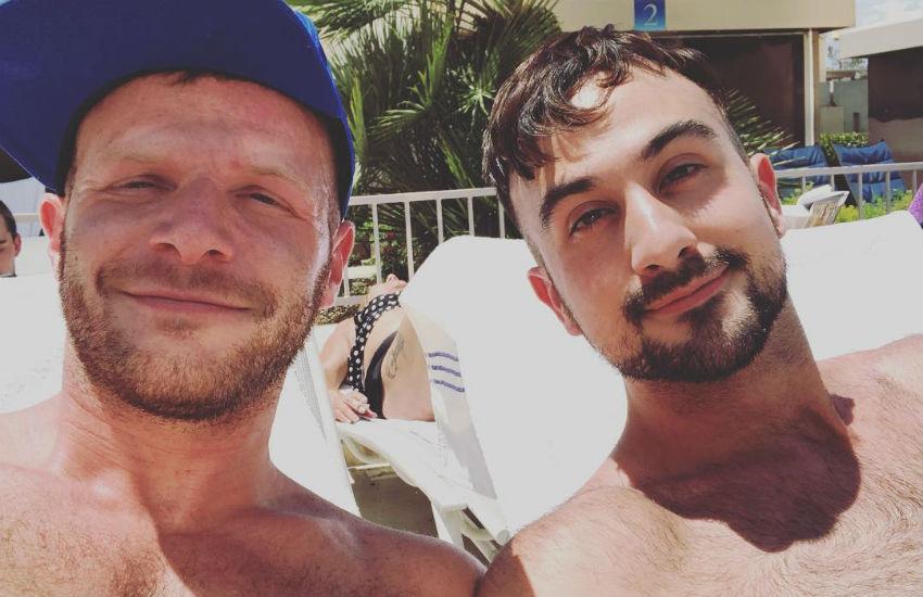 Gay vacation porn