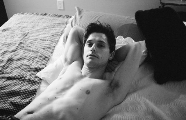 Andy On My Bed by Tyler Udall