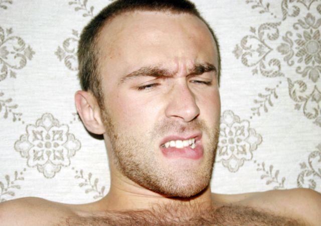 Cumfaces #6, by Stuart Sandford