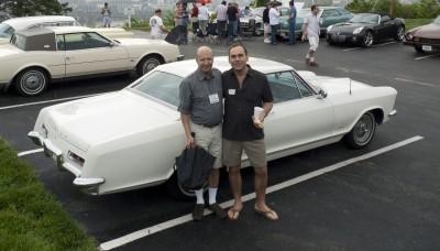 GM's Adam Bernard with partner, Rich