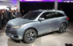 Acura MDX Prototype at the 2013 Detroit Auto Show (photo by Sam Miller-Christiansen)