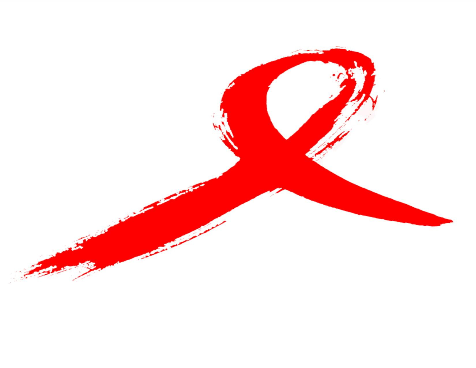 Red HIV/AIDS awareness ribbon