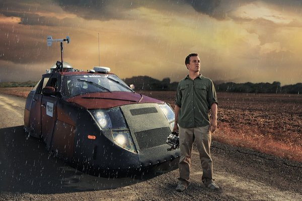 Reed Timmer from Discovery Channel's Storm Chasers