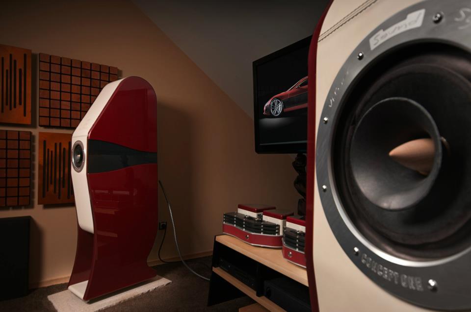 Rimac Automobili Sound System by Vilner