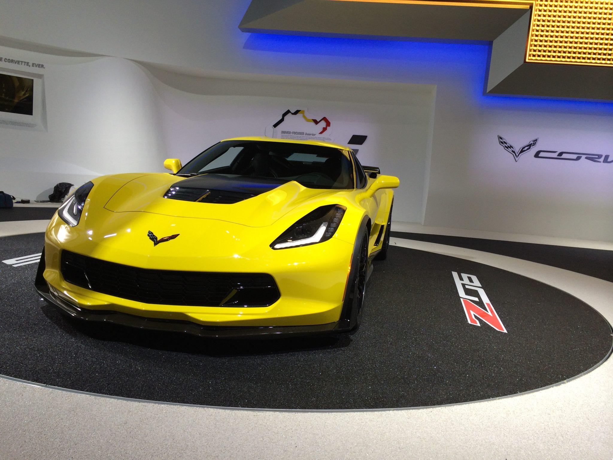 2015 Corvette Z06  (NAIAS 2014, photo by Jerrod Nall)