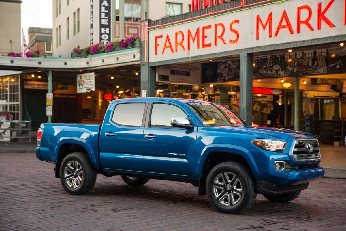 2016 Toyota Tacoma Limited: It's Not A 'Back To The Future ...