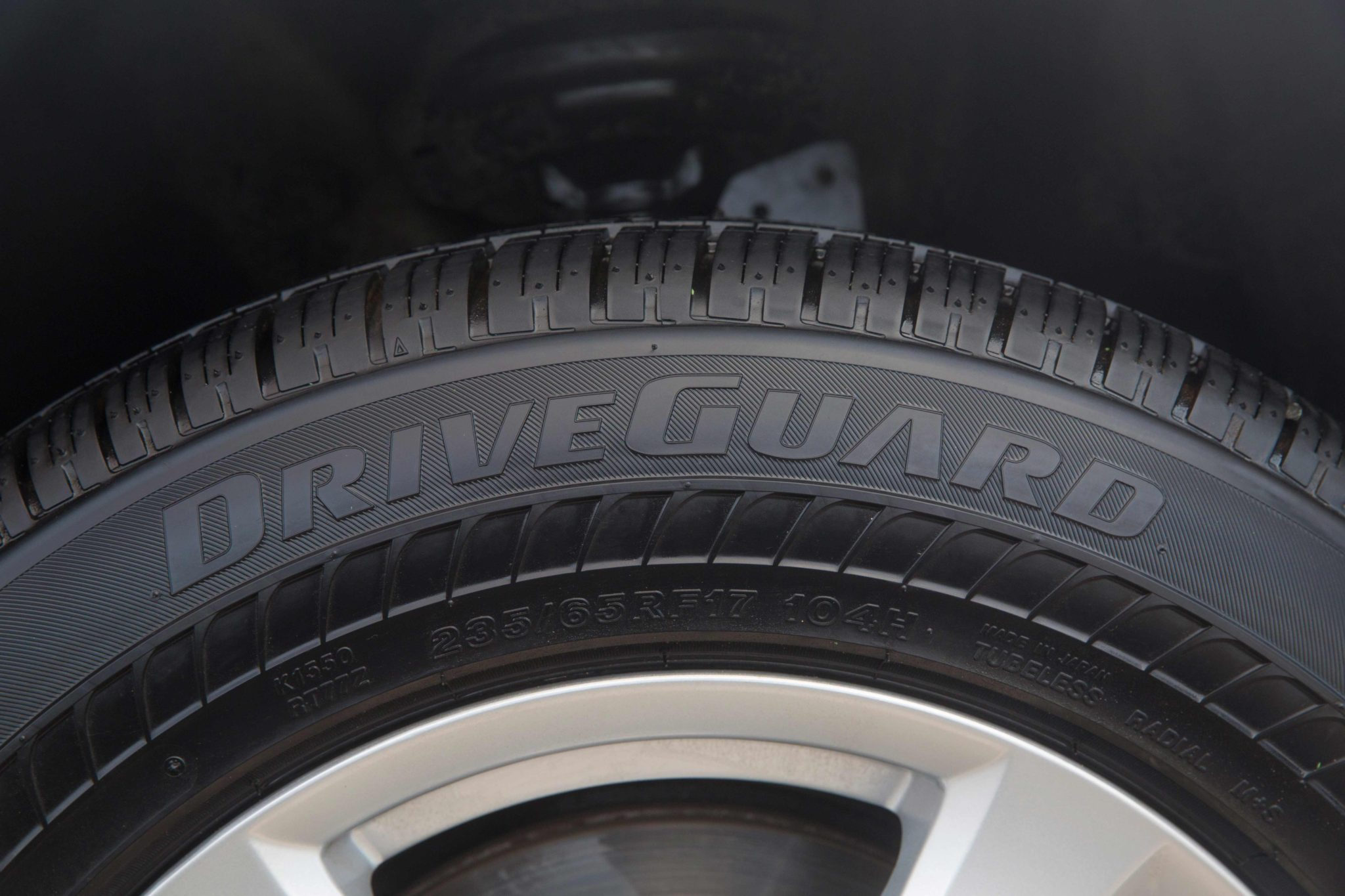 Bridgestone DriveGuard tire