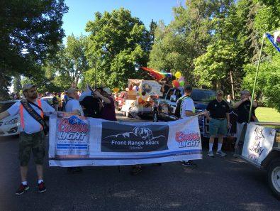 2016 Nissan Titan XD (at the Denver PrideFest Parade)