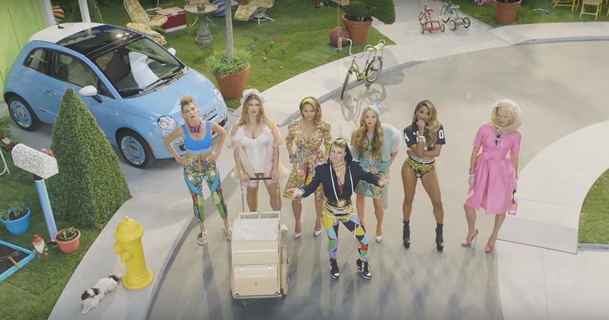 """Fergie video for """"M.I.L.F. $"""" (screencap)"""