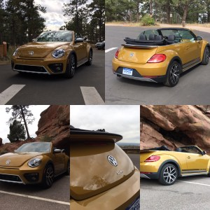The 2017 Volkswagen Beetle Convertible 1 8T Dune is the dune buggy