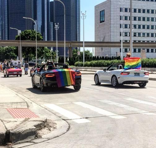 Fiat Chrysler at Detroit Pride 2017