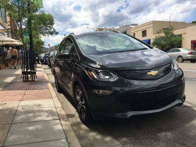 2017 Chevrolet Bolt EV (photo by Dave Bear)