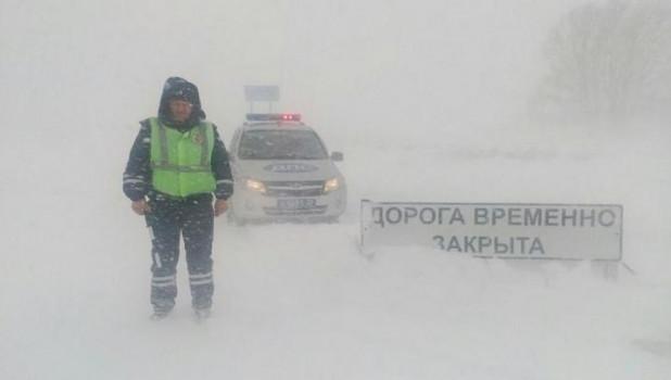 Штормовые метели продолжатся в Алтайском крае